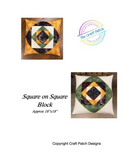 Square on Square Sewing Pattern