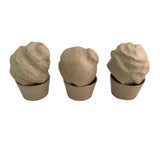 Ice Cream Scoop Cupcake Box - 3D Paper Mache