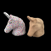 Unicorn Head - 3D Paper Mache