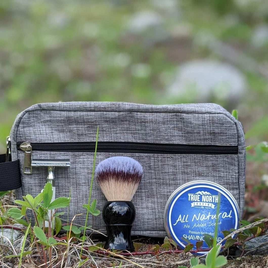 Shave brush + Soap ($25) True North Shave Co