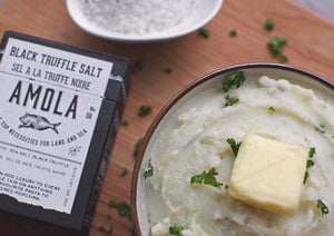 Black Truffle Salt ($22) Amola