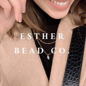 Earrings ($46) Esther Bead Company