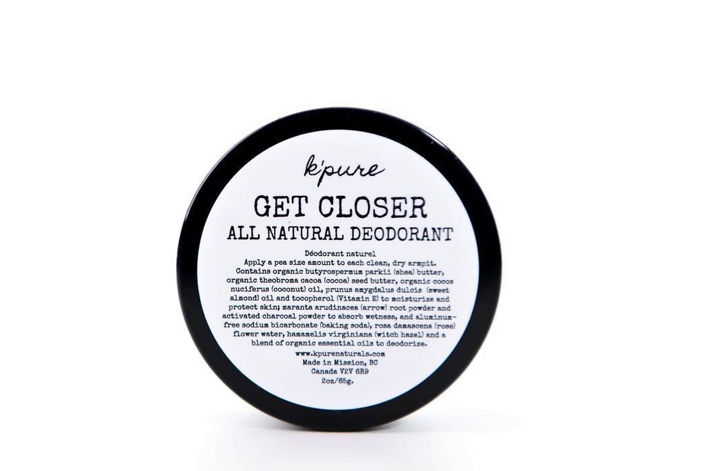 Get Closer - All Natural Deodorant