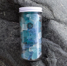 Load image into Gallery viewer, Beach Glass Soap Jars ($20)