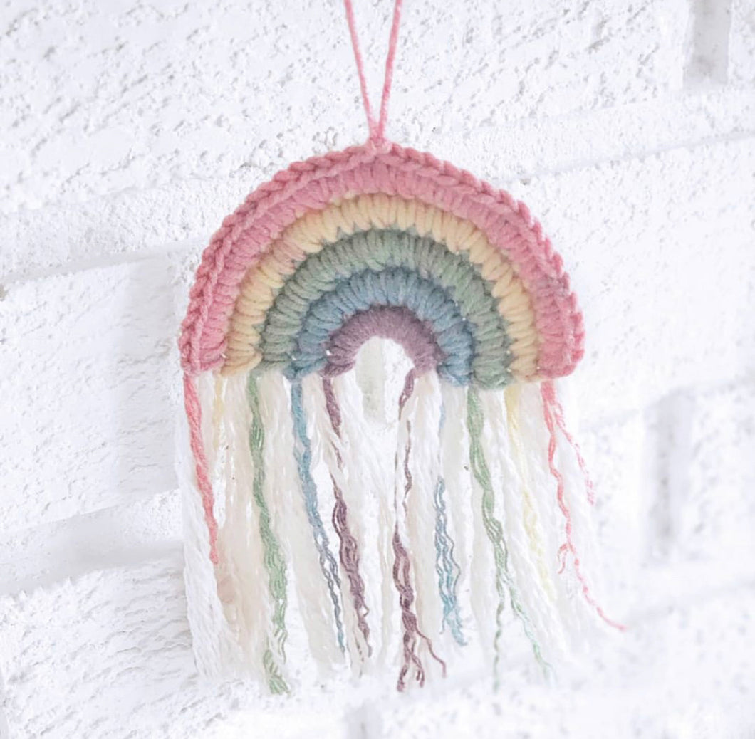 Wall Hanging Rainbow ($15) Riverbug Love