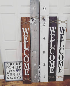 Growth Ruler ($55) Crafts by K
