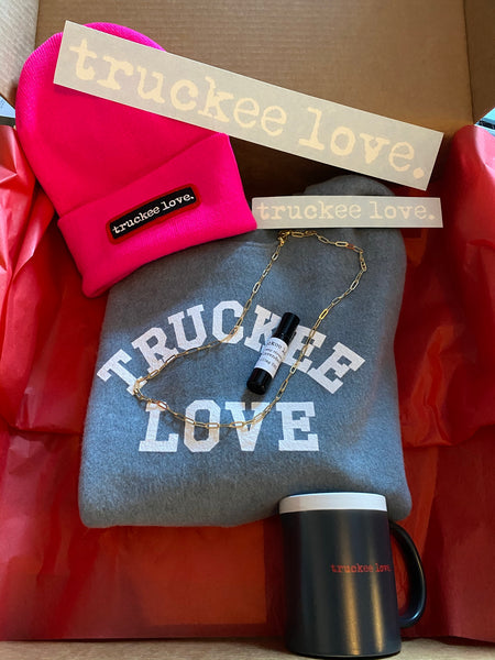 big box of truckee love. for ladies