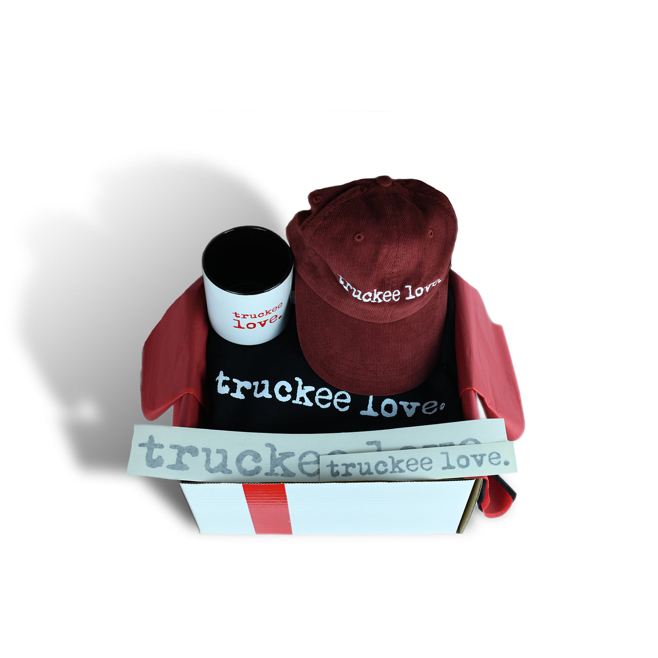 medium box of truckee love.