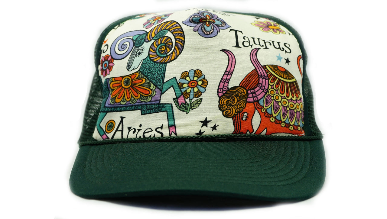Hat-Fabric Front Astrological