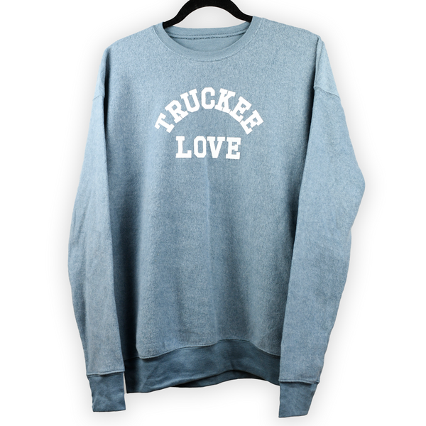 sueded drop shoulder sweatshirt Higher Learning adult