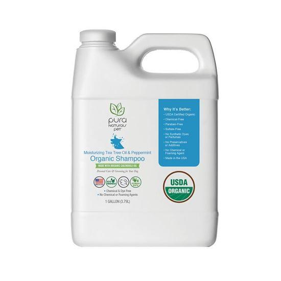 Organic Dog Shampoo - 1 Gallon