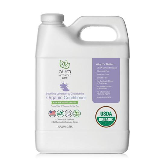 Organic Rinse-Out Dog Conditioner - 1 Gallon