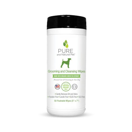 Grooming & Cleansing Wipes (Green Tea)