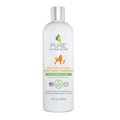 Shed Control Dog Conditioner (Sweet Orange & Coconut)