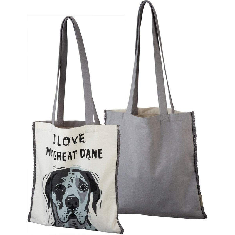 I Love My Great Dane Tote Bag