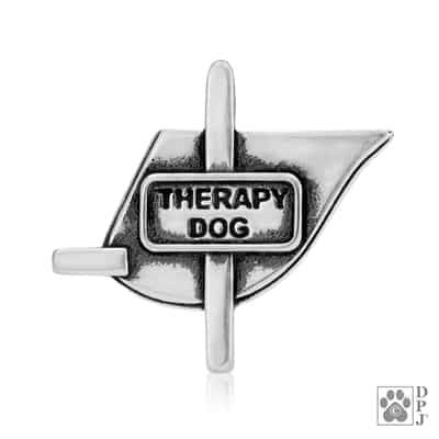 Therapy Dog Vest Pendant