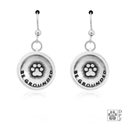 Be Grounded Paw Earrings