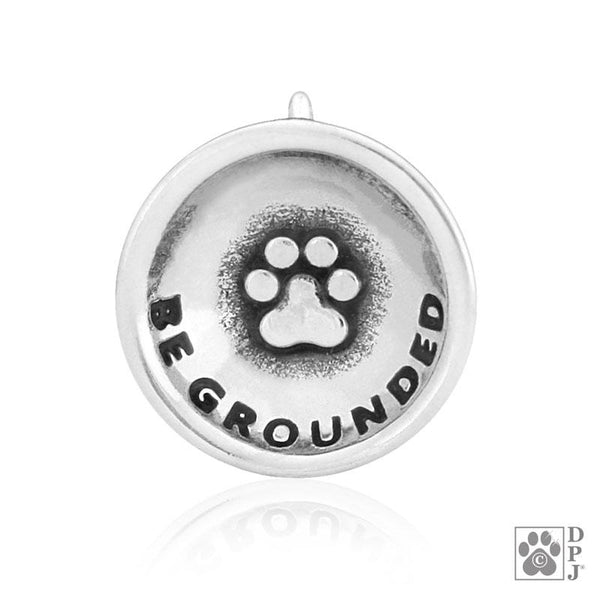 Be Grounded Paw Pendant