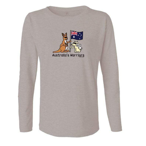 Australia's Warriors - Ladies Long-Sleeve T-Shirt