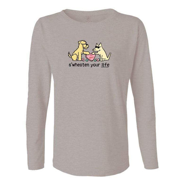 S'Wheaten Your Life - Ladies Long-Sleeve T-Shirt