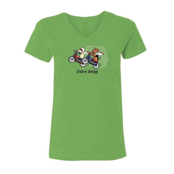 D-aire Devils - Ladies T-Shirt V-Neck