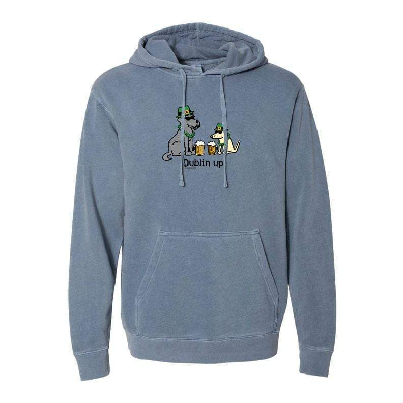 Dublin Up With The Irish - Sweatshirt Pullover Hoodie