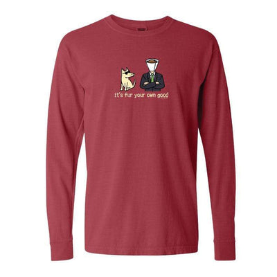 It's Fur Your Own Good - Classic Long-Sleeve T-Shirt Classic