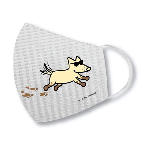 Teddy The Dog Face Mask Dirty Dogs Have More Fun Akc Shop