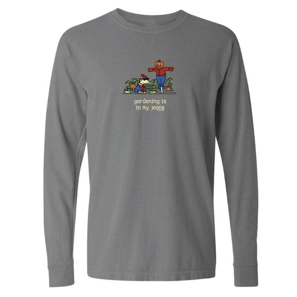 Gardening Is In My Jeans - Classic Long-Sleeve T-Shirt
