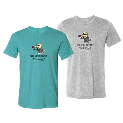 Will You Accept This Nose? - Lightweight Tee