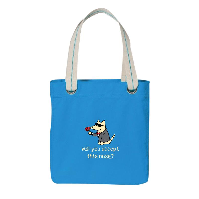 Will You Accept This Nose? - Canvas Tote