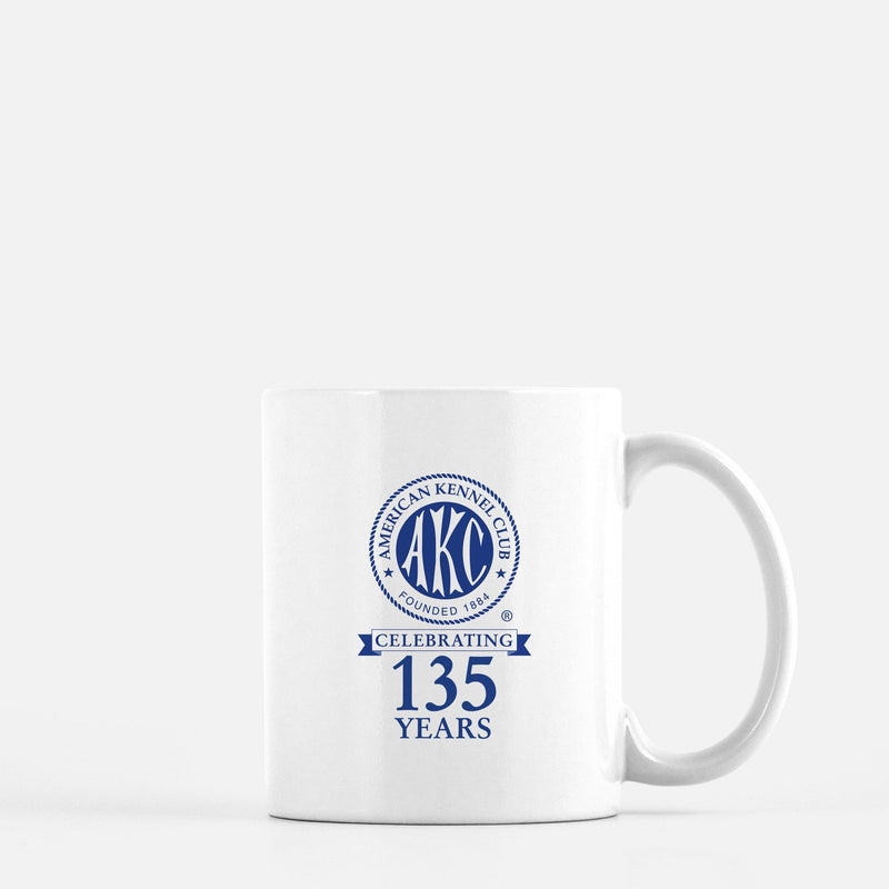 AKC 135th Anniversary Logo Coffee Mug
