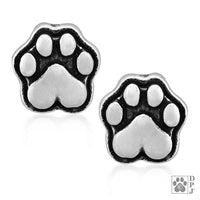 Heart Paws Post Earring