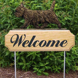 Michael Park Dog In Gait Welcome Stake Cairn Terrier