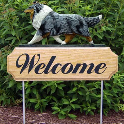 Collie Welcome Sign