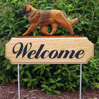 Leonberger Welcome Sign