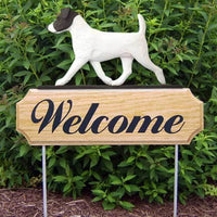 Parson Russell Welcome Sign
