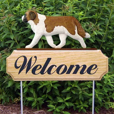 Saint Bernard Welcome Sign