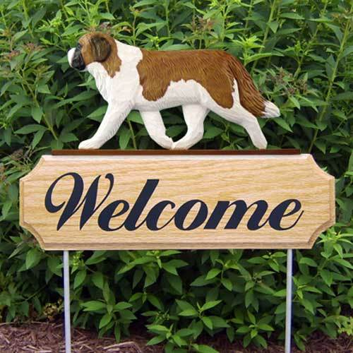 Michael Park Dog In Gait Welcome Stake Saint Bernard