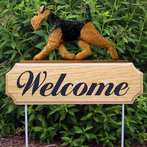 Michael Park Dog In Gait Welcome Stake Welsh Terrier