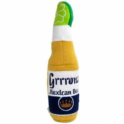 Grrrona Mexican Beer Plush Dog Toy