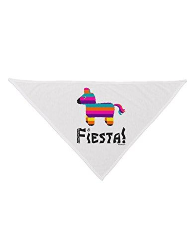 Fiesta Printed White Dog Bandana