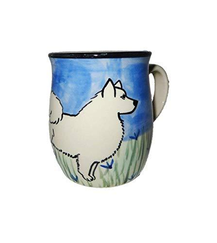 Samoyed Hand-Painted Ceramic Mug