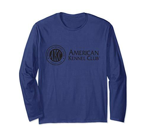 AKC Black Horizontal Logo Long Sleeve