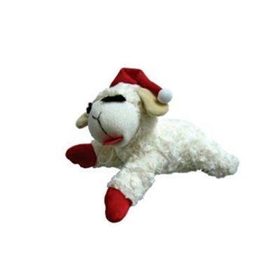 Holiday Lambchop Squeaky Dog Toy