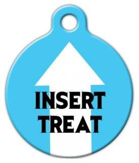 Insert Treat - Custom Pet ID Tag