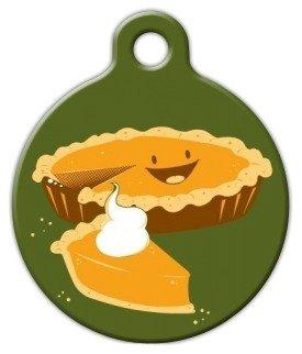 Pumpkin Pie Pet ID Tag