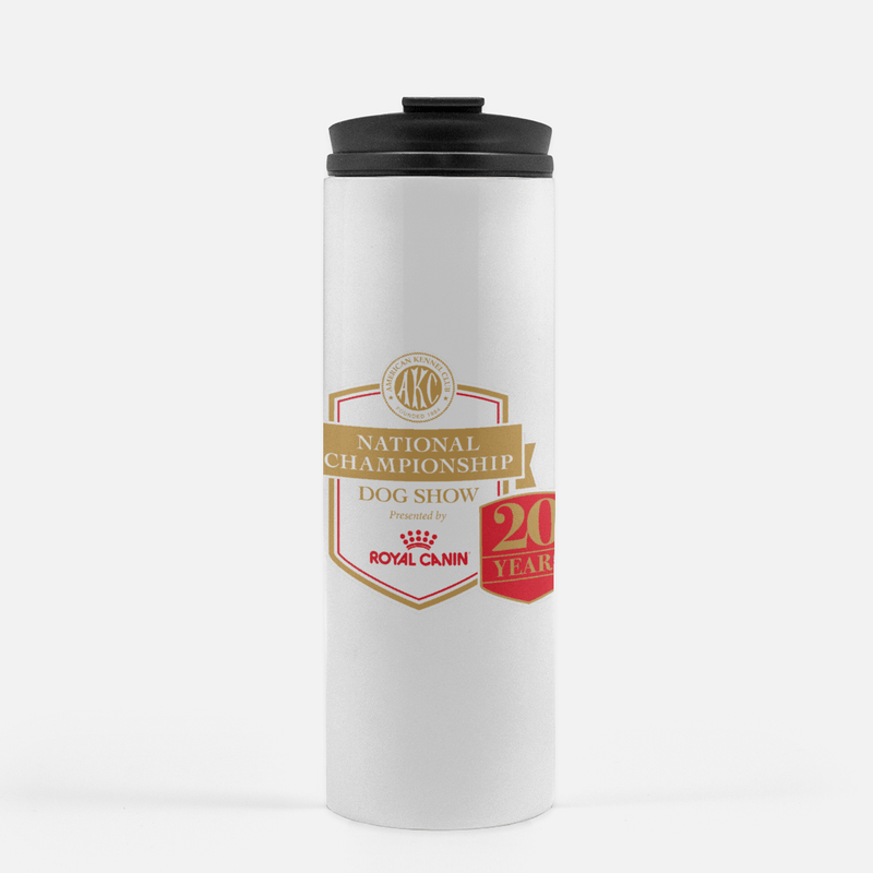 AKC National Championship 20th Anniversary Stainless Steel Thermal Tumbler