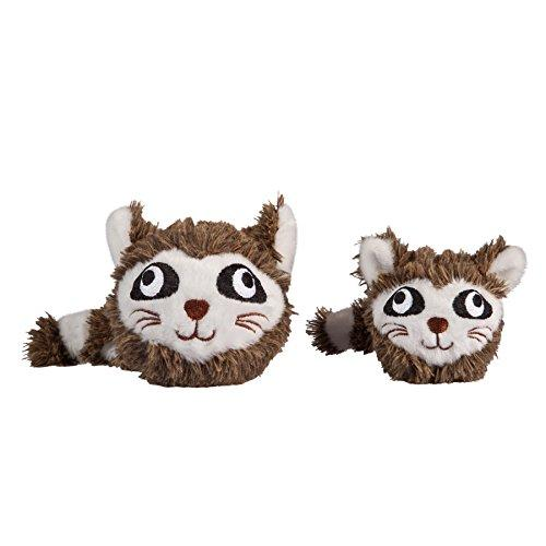 Raccoon faball Squeaky Dog Toy