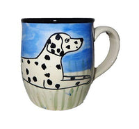 Dalmatian Hand-Painted Ceramic Mug